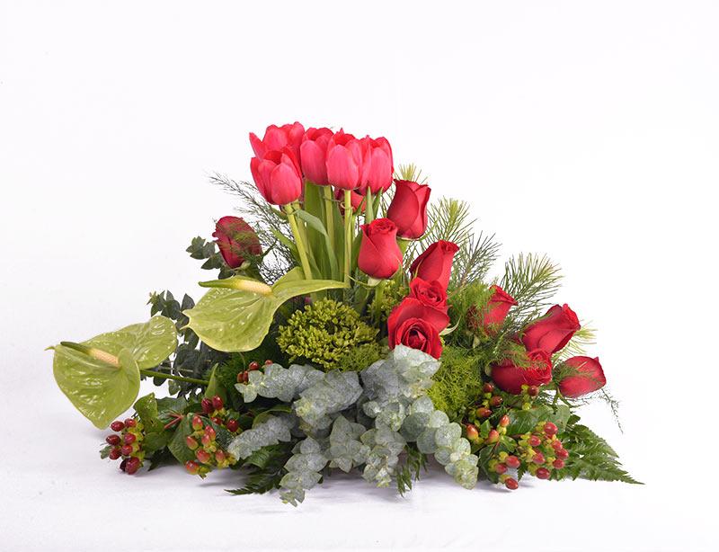 Centro de Tulipanes y Rosas