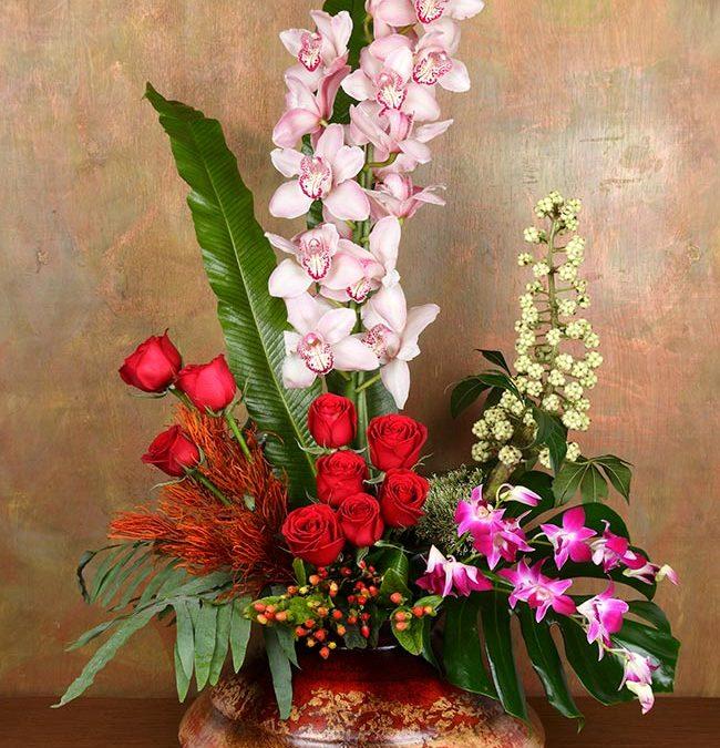 Volcán de Orquídeas y Rosas