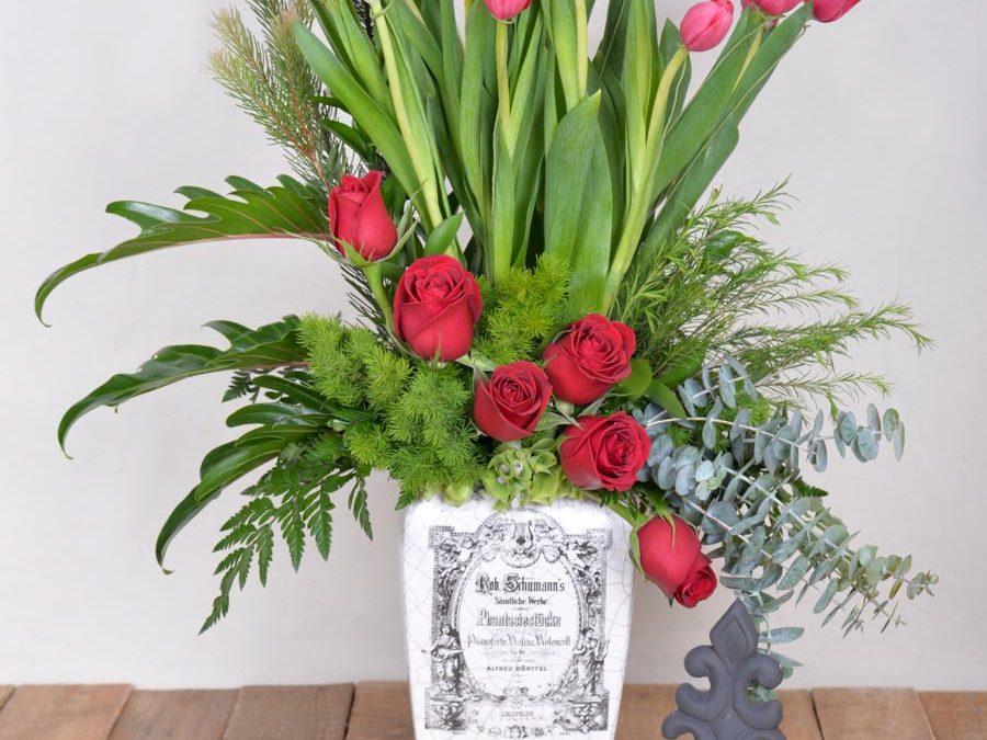 Violoncello de Tulipanes