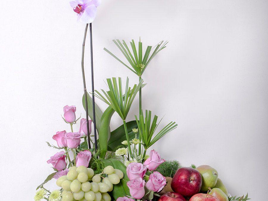 Jardinera Oriental con Frutas