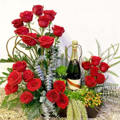 Flores romanticas maria orsini